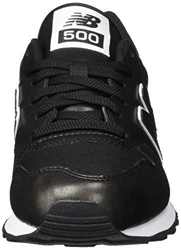 New Balance 500, Zapatillas para Mujer Negro (Black) 41 EU