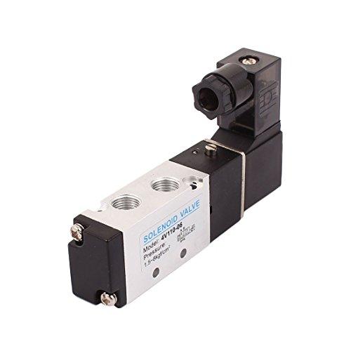 Aexit 4V110-06 AC 24V 2 Position 5 - Wegeventil PT1 / 8 Magnetventil für neutrale Luft (cecacaa7c727aad4de79fc6b9b6d7d9b)