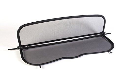 Frangivento pieghevole nero con chiusura rapida per Mercedes CLK A209 W209 2003-2010 | Deflettore...