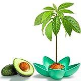 MOSRACY Ciotola per piantare Avocado: coltiva i Tuoi Avocado, Regali da Giardino per Mamme, Sorelle e Migliori Amiche, i Migliori Regali di avviamento per Semi da Giardino(Nessun Semi)