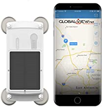 Solar Magnetic GPS Tracker - Equipment, Truck, Trailer, RV, Tracking Device - Mobile and Web App Included - Fleet GPS Locator