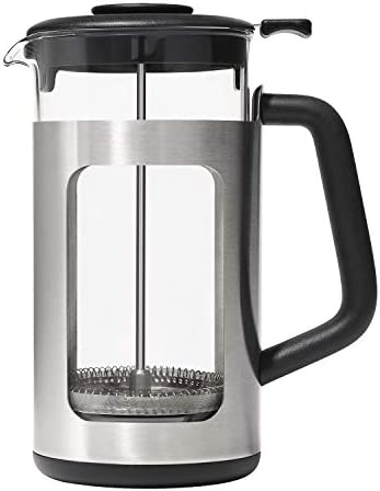 OXO Brew French Press with GroundsLifter One Size Steel product image