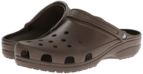 Crocs Classic Clog, Zuecos Unisex Adulto, Marrón (Chocolate 200), 48/49 EU