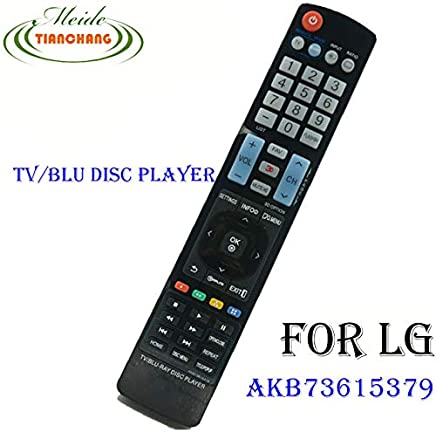 Calvas New AKB72615379 For LG TV/BLU-RAY DISC PLAYER With 3D Remote control