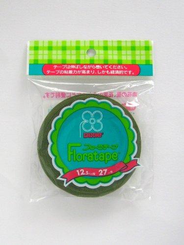 日本デキシー『フローラテープモスグリーン』