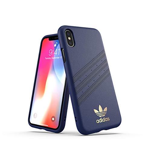 adidas OR FW18 - Funda Moldeada para iPhone X/XS, Color Azul