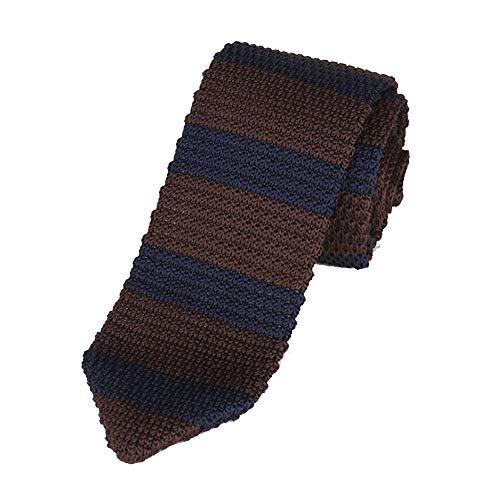 Tie Freizeit Spitzfaden und Lange Krawatte Männer Business Casual-Anzug mit Krawatte Stricken (Color : 06, Size : 148cm*6cm*4cm)