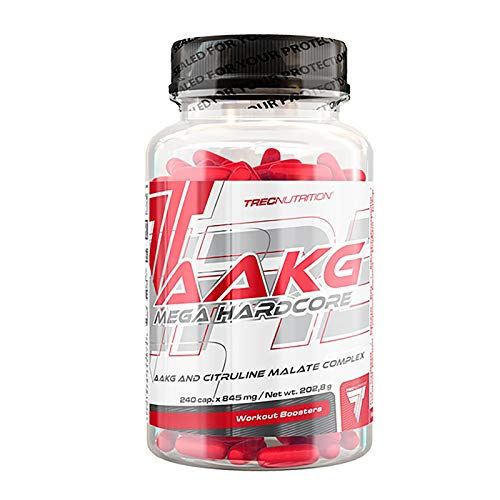 AAKG MEGA HARDCORE 240 CAPS by TREC NUTRITION. Seltradi Ltd. by Trec Nutrition