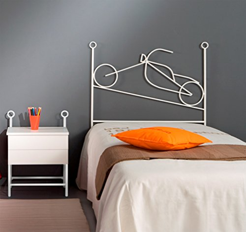 MuebleTienda Betts aus Schmiedeeisen Mod. Moto (105Zentimeter, Pink)