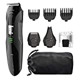 Remington PG6025 All-in-1 Lithium Powered Grooming Kit, Beard Trimmer - 8 Pieces (Renewed)
