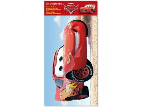 Fun House - 711598 - Ameublement et Décoration - Murale Personnage en Relief - Disney Cars