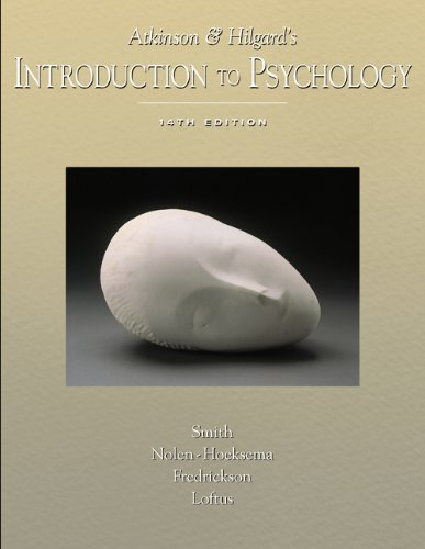 Atkinson and Hilgard's Introduction to Psychology With Infotracの詳細を見る