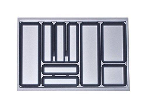 Besteckeinsatz Orga-Box I Besteckkasten 717 x 474 mm für Blum Tandembox + ModernBox im 80er Schrank