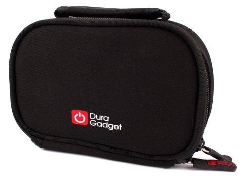 DURAGADGET Housse/Etui épais néoprène pour Sony Action Cam HDR AS50 et Mini AZ1, Kodak SP360 4K, Nikon KeyMission 360, Hubsan H902B et 4K, caméra embarquée