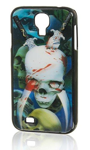 '3d funda Back Case Cover 'Bloody Skull para móvil Samsung Galaxy S4i9500i9502Funda Cover Carcasa Bumper