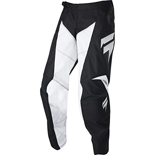 2020 Shift Youth White Label Race Pants-Black/White-28