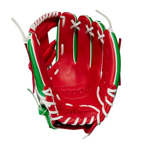 Wilson 2021 Mexico Flag A2000 Country Pride Glove