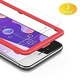 BANNIO Protector de Pantalla iPhone 7 / iPhone 8,[3 Unidades] 2.5D Cristal Templado para iPhone 7 / iPhone 8 con Kit de Instalación,Anti-Huella Digital, Anti-Scratch