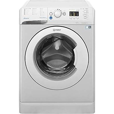 Indesit Innex BWA81483XSUK 8 Kilogram Washing Machine with 1400 rpm Silver