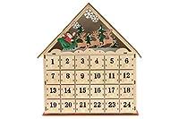 DA ABBINARE A QUALSIASI DECORAZIONE NATALIZIA: Questo calendario dell'avvento in legno è perfetto per regalare alla tua casa un tocco ancor più festivo. Ideale come abbinamento per qualsiasi decorazione a tema natalizio, porterà lo spirito del Natale...