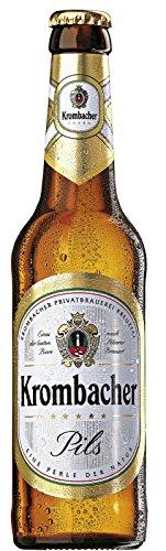 Krombacher Pilsner - 0,5l, inkl. Pfand - 20 Flaschen mit Kiste