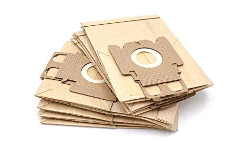 vhbw 10 Papier Staubsaugerbeutel Filtertüten für Staubsauger Saugroboter Miele S144, S145, S146, S147, S148, S149, S150, S151, S152, S153, S154, S155
