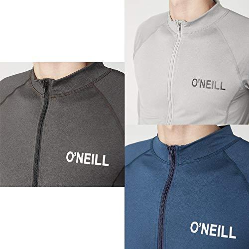 ONEILLオニールメンズラッシュジャケットラッシュガードUVカット長袖ジップ付き610472UPF50+