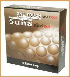 5 Pack @ 3 Pcs, One Touch Condom Maxxdot Size 52 Mm. 15 Pcs