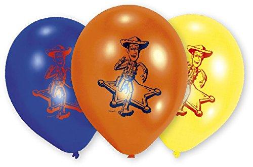 Riethmüller - 450232 - Décoration de Fête - 6 Ballons Latex Toy Story