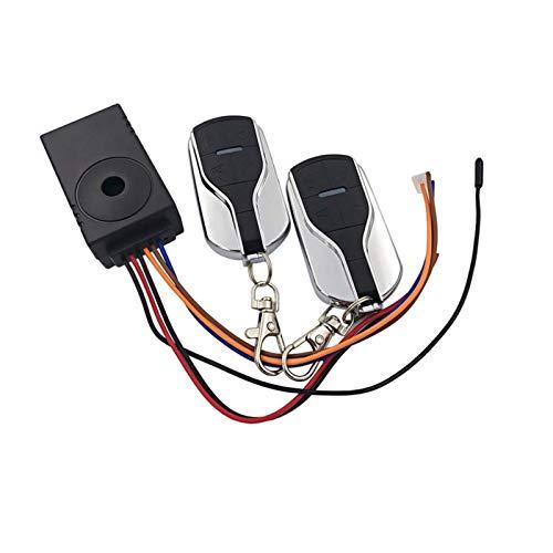 Viviance 48V 60V 72V Scooter Telecomando Antifurto Allarme Sistema di Sicurezza - B