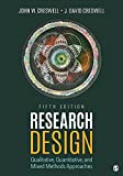 Research Design John W. Creswell and J. David Creswell 978-1506386706 1506386709