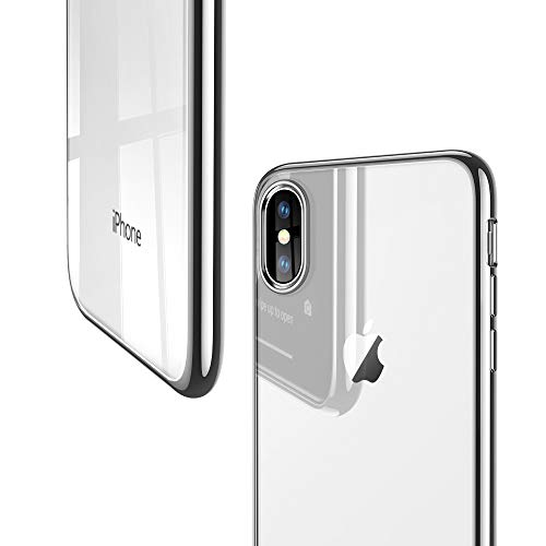 ESR Essential Twinkle Case for iPhone Xs/X, Slim Soft TPU Cover [Supports Wireless Charging] for The...