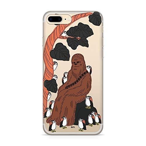Ert Group SWPCCHEBA1655 Star Wars Cubierta del Teléfono Móvil, Chewbacca 006 iPhone 7 Plus/ 8 Plus