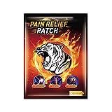 Parche para aliviar el dolor, yeso de bálsamo de tigre, parche para aliviar el dolor, yeso para aliviar el dolor para aliviar el dolor de las articulaciones y las rodillas y relajar los músculos