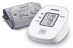 Surveillance à domicile: l'Omron X2 Basic fournit des lectures oscillométriques de votre tension artérielle à l'aide d'un brassard pour que vous puissiez garder un œil sur votre tension artérielle dans le confort de votre foyer Restez à jour avec vot...