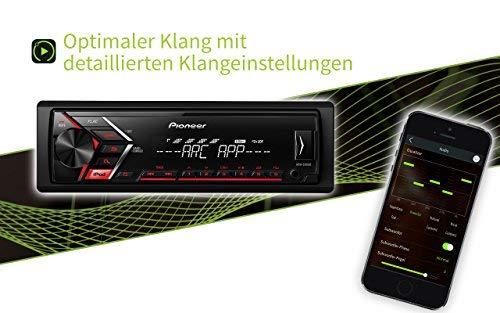 Pioneer Car Multimedia MVH-S100UI Auto Radio Numérique pour iPod Noir