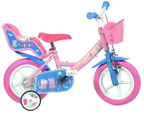 Dino Bikes 124RL-PIG Peppa Pig Bicycle, Pink, 12-Inch Finding Dory, Kids Bike