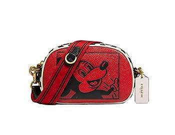 COACH x Disney Mickey Mouse x Keith Haring Crossbody Leather Purse - #C1141