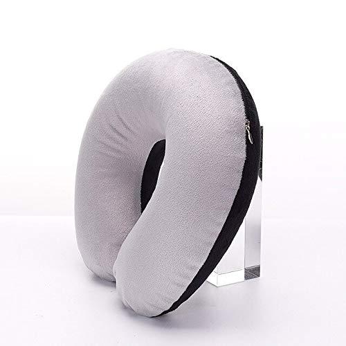 1 x Kopfstütze weiches U-förmiges Kissen, aufblasbares Kissen, Auto-Stillkissen, Reisekissen, Nackenstütze (12 Stück).