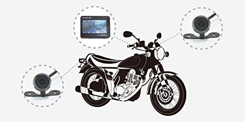 サンコー『バイク用フルHD前後ドライブレコーダー』