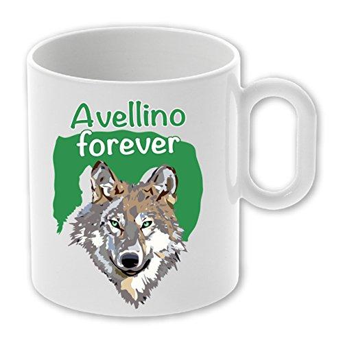 My Custom Style Tazza in Ceramica Personalizzabile da 325ml Modello Avellino Forever - 1 Tazza