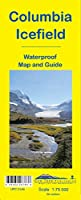 Columbia Icefield Map