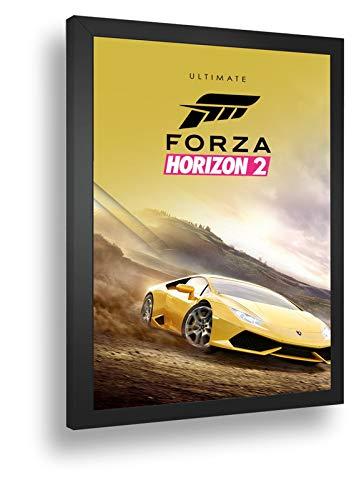 Quadro Decorativo Poste Forza Horizon 2 Ultimate Edition Retro