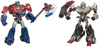 Hasbro Transformers Animated The Battle Begins - Optimus Prime  vs. Megatron