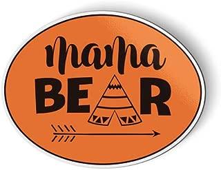 AK Wall Art Mama Bear Cute Native - Magnet - Car Fridge Locker - Select Size