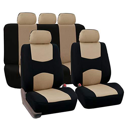 Universele autostoelhoes Interieuraccessoires Past op het meeste autostoeltje Autostoelbeschermer Professional Fashion Beige