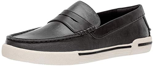 Unlisted by Kenneth Cole Men's UN-Anchor Boat Shoe, Black, 9 M US
