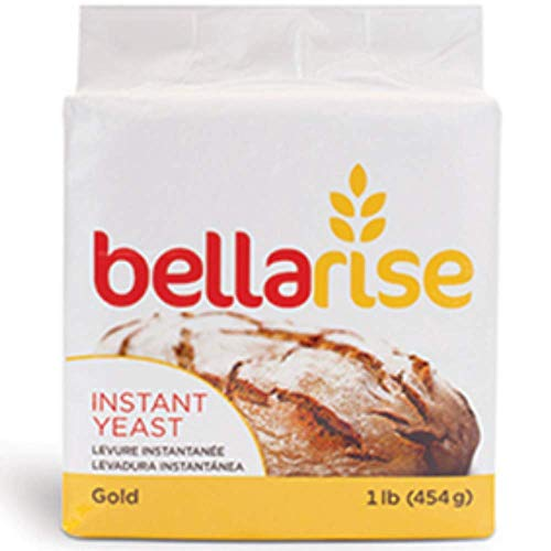 of yeast for baking 1 lbs Instant Dry Yeast - 1lb Superior Bread Yeast for Artisan Bread, Bagels, Pizza Crusts, Pretzels, Sweet Dough (2 Pack Gold)