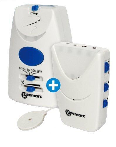 Geemarc AMPLICALL 5040 Klingelempfänger+ Signalanzeige mit Vibration / Feueralarm-Melder