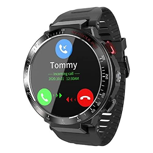 Relógio Smartwatch NAMOFO Novo 4g smartwatch masculino android 800mah 8mp câmera monitor de freqüência cardíaca à prova dwaterproof água esportes rastreador relógios inteligentes para apple telefone relógio